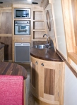 Cumbria Narrowboats interior