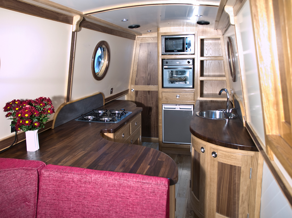 Crick boat show photo shoot high quality images of our for Narrowboat interior designs