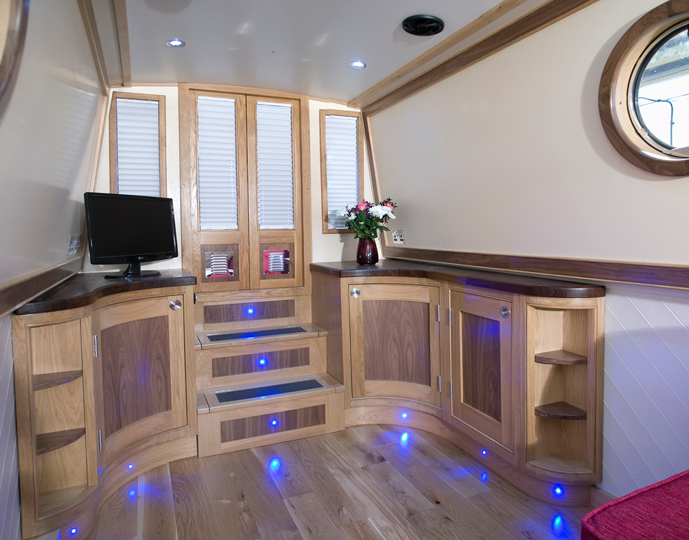 Narrowboat Kitchen Design